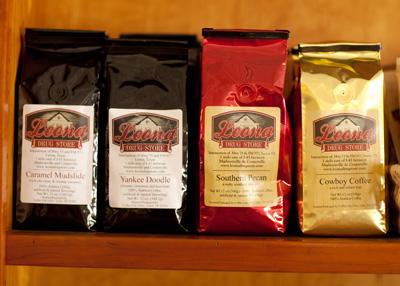 Leona Drug Store Private Label Coffees